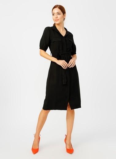 Fabrika Elbise Siyah